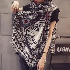 Follow Me - 图案围巾
