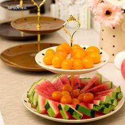 Jarsun - 陶瓷双层水果盘