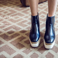 chuu - Platform Chelsea Ankle Boots