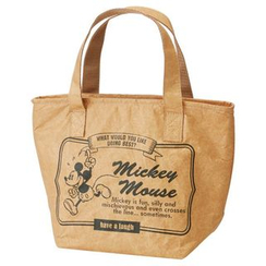 Skater - Mickey Mouse Faux Leather Lunch Bag
