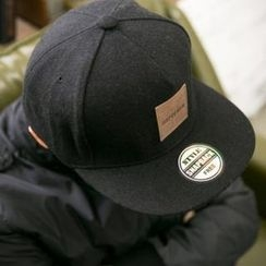 ABOKI - Wool Appliqué Baseball Cap