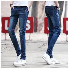 藍派 - 修身牛仔褲