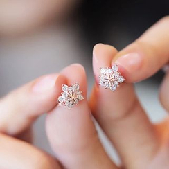 Love Generation - Crystal Snowflake Earrings