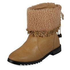 yeswalker - Fleece Cuff Boots