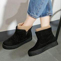 Renben - Platform Short Boots