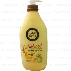 HAPPY BATH - Natural Real Moisture Body Wash (Fruits)