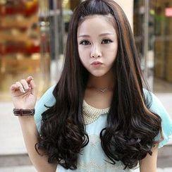 SEVENQ - Long Half Wig - Straight