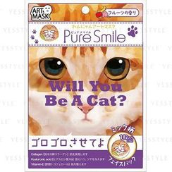 Sun Smile - Pure Smile Dogs & Cats Art Mask 2 (Fruits) (Mick)
