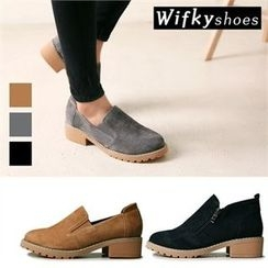 Wifky - Genuine-Leather Loafers (2 Designs)