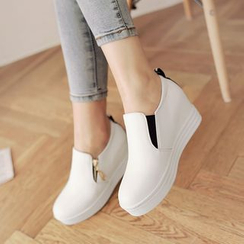 Shoes Galore - Hidden Wedge Slip Ons