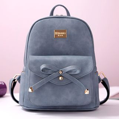 BeiBaoBao - Bow-Accent Backpack