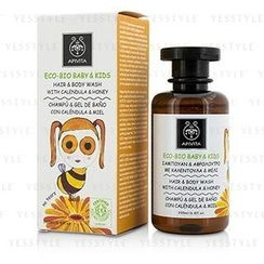 Apivita - Eco-Bio Baby and Kids Hair and Body Wash (Calendula and Honey)