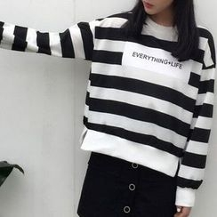 Cloud Nine - Striped Pullover