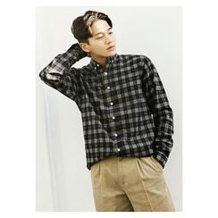 HOTBOOM - Cotton Check Shirt