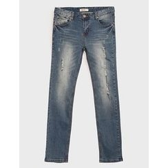STYLEMAN - Plain Washed Jeans