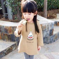 CUBS - Kids Long-Sleeve Printed T-Shirt