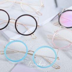 罗煞秀 - 圆形眼镜