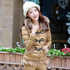 Romantica - Set: Toggle Padded Jacket + Top + Pants