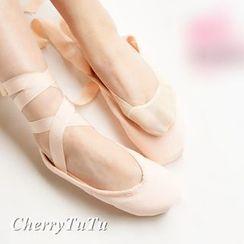 櫻桃兔兔 - 純色隱形船襪