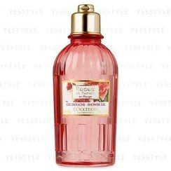 L'Occitane 欧舒丹 - 嫣红玫瑰温和沐浴啫喱