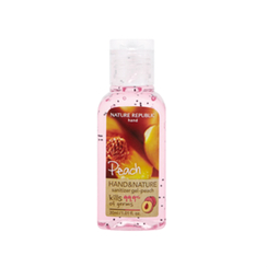 Nature Republic - Hand And Nature Sanitizer Gel (Ethanol) - Peach 30ml