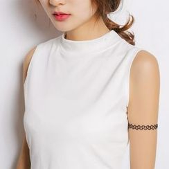 GoFlow - Sleeveless Plain Top