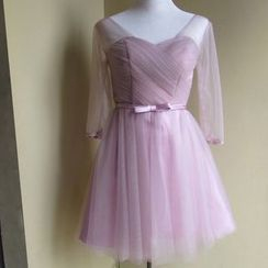 Bridal Workshop - 中袖A字礼服裙