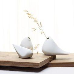 Gukan - Set of 3 : Ceramic Desktop Ornament