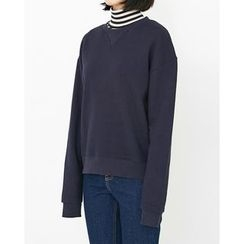 Someday, if - Crew-Neck Cotton Sweatshirt