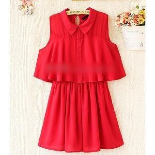 Munai - Cutout-Sleeve Dress