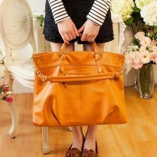 Life 8 - Faux-Leather Tote With Strap
