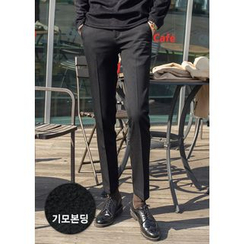 GERIO - Brushed Fleece Lined Dress Pants