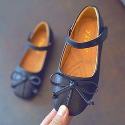 BOOM Kids - Kids Bow Buckled Flats