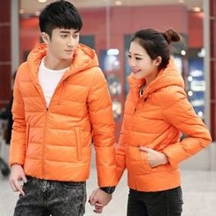 Harvin - Couple Matching Hooded Down Jacket
