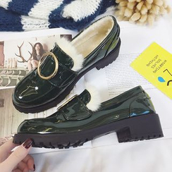 Tina Nini - 毛毛樂福鞋
