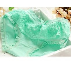 Cutesy Dream - Set of 5: Lace Trim Panties