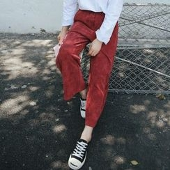 Queen Bee - Corduroy Wide Leg Pants