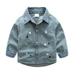 Seashells Kids - Kids Printed Denim Shirt