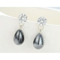 Diva Rama - Faux Pearl Earrings