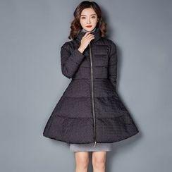 NINETTE - Stand-Collar Padded Zip Coat
