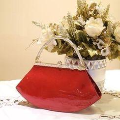 兔貝貝 - 漆皮手提包