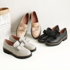 幸福鞋坊 - 蝴蝶結樂福鞋