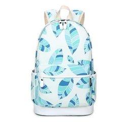 VIVA - Leaf Print Backpack