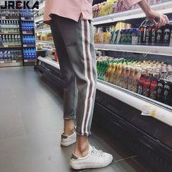 Jacka - Striped Harem Pants