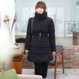 Soneed - Padded Coat with Belt