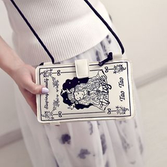 Secret Garden - Printed Mobile Pouch