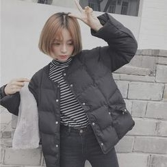 Dute - Snap Button Padded Jacket