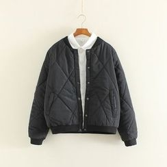 Mushi - Quilted Bomber Jacket