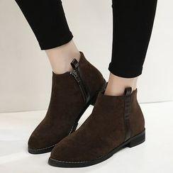 Monde - 人造麂皮及踝靴