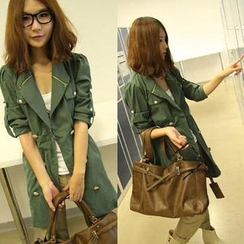QZ Lady - Double-Breasted Trench Coat